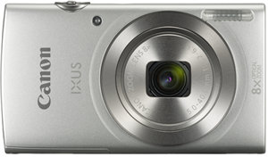 Canon IXUS 185 20.0MP 8x Zoom Digital Camera Silver