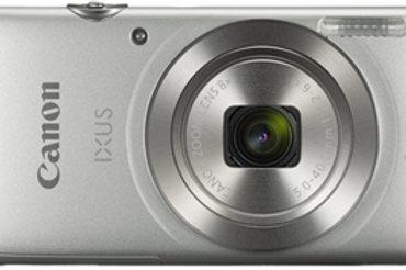 Canon IXUS 185 20.0MP 8x Zoom Digital Camera Silver
