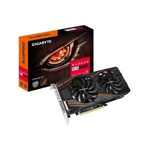GIGABYTE RADEON GV-RX580GAMING-8GD WITH 8GB 256-BIT GDDR5 ,3 X DP 1X HDMI 1XDVI-