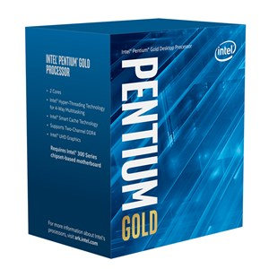 INTEL PENTIUM GOLD G6400 2 CORES 4 THREADS 4.0GHz 4M CACHE LGA 1200 PROCESSOR