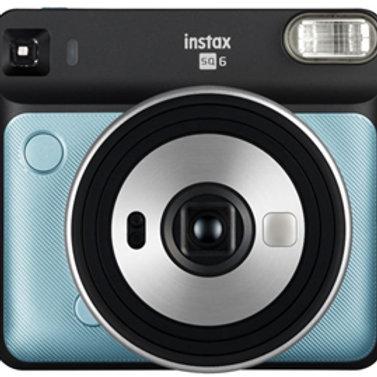 Fujifilm Instax Square SQ6 Camera - Aqua Blue