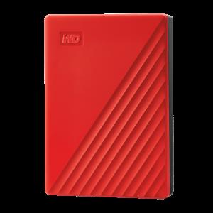 WD MY PASSPORT 4TB USB 3.0 EXTERNAL HDD RED