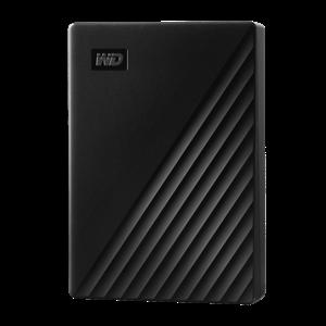 WD MY PASSPORT 4TB USB 3.0 EXTERNAL HDD BLACK