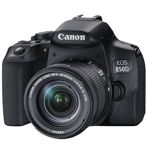 Canon EOS850D 24.1MP APS-C DSLR Camera w/18-55 IS STM Lens
