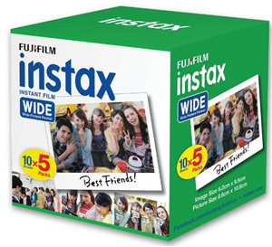 Fujifilm Instax Wide Film 50 Pack