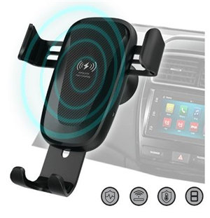 Sansai Hands-free Car Vent Mount with Wireless Charging