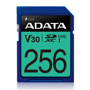 ADATA Premier Pro V30 UHS-I U3 SDXC Card 256GB