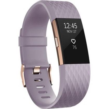 Fitbit Charge 2 Smart Band - Wrist - Accelerometer, Altimeter, Optical Heart Rat