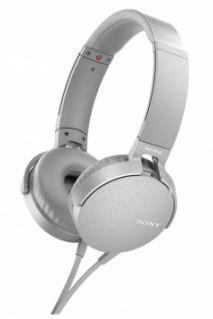 Sony MDRXB550APW Extra Bass Headphones - Overhead Style White