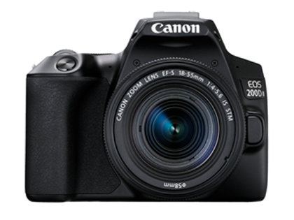 Canon EOS 200D Mark II 24.1MP APS-C DSLR (18-55 IS STM II) Camera