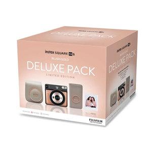 Fujifilm Instax Square SQ6 Camera - Blush Gold Deluxe Pack