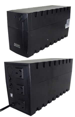 Powercom Raptor 1000VA/600W Line Interactive UPS Mini Tower