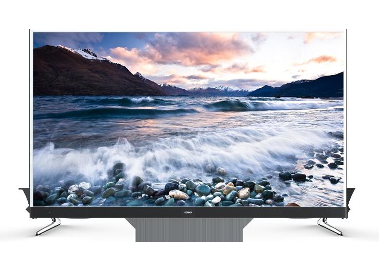 """Konka 55"""" SERIES 776 Wide Ultra HD 4K SMART TV with JBL Sound"""