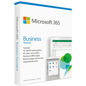 Microsoft 365 Business Standard - 1 User - 1 Year