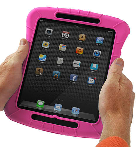 OMP TABLET SHOCKPROOF CASE FOR IPAD AIR/AIR2/NEW IPAD PINK
