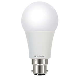 Verbatim LED Classic A 9W 850lm 4000K Cool White B22 Bayonet Dimmable