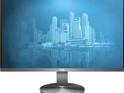 "AOC i2490VXQ 24"" 1920x1080 VGA HDMI DP Frameless Monitor 4yr wty"