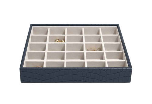 STACKERS CLASSIC 25 COMPARTMENT LAYER NAVY CROC