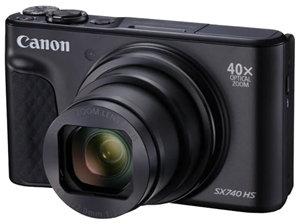 Canon PowerShot SX740 HS 20.3MP CMOS 40x Digital Camera Blk