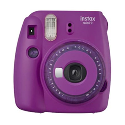Fujifilm Instax Mini 9 Camera Purple w/10 Pack Film