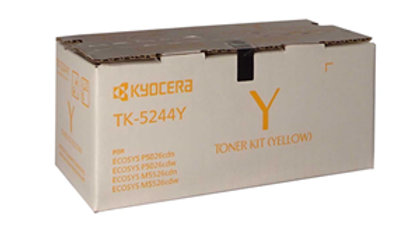 Kyocera TK-5244Y Yellow Toner