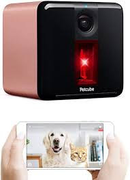 PETCUBE PLAY 2 - SMART PET CAMERA WITH INTERACTIVE LASER TOY SILVER