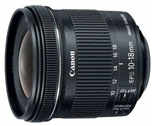 Canon EF-S 10-18mm f/4.5-5.6 IS STM EF-S Mount Lens