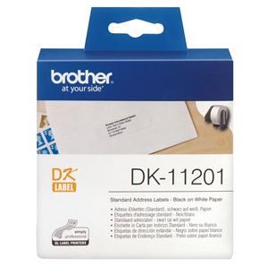 Brother DK11201 400 Standard Address Labels 29mm x 90mm
