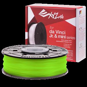 XYZ DA VINCI NFC FILAMENT FOR MINI MAKER/JR/NANO - PLA (NEON GREEN)