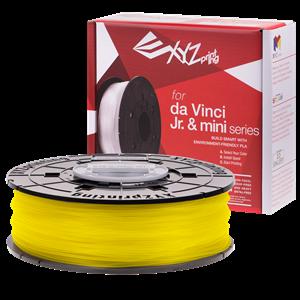 XYZ DA VINCI NFC FILAMENT FOR MINI MAKER/JR/NANO - PLA (YELLOW)