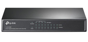 TP-Link SG1008P 8 Port Gigabit Switch with 4x PoE Ports