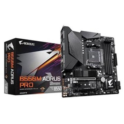GIGABYTE B550M AORUS PRO (AM4 AMD/B550/Micro ATX/Dual M.2/SATA 6Gb/s/USB 3.2 Gen