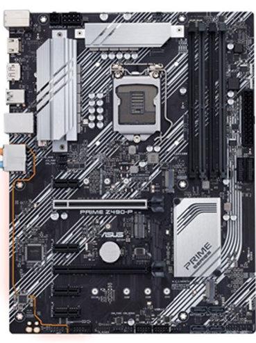 Asus Prime Z490-P Z490 ATX LGA1200 Motherboard