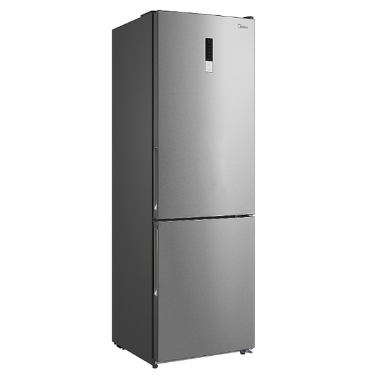 Midea 323L Fridge Freezer Stainless Steel JHBMF323SS