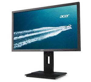 """Acer B246HL 24"""" 1920x1080 VGA DVI DP Ergo Height Adjust Monitor"""