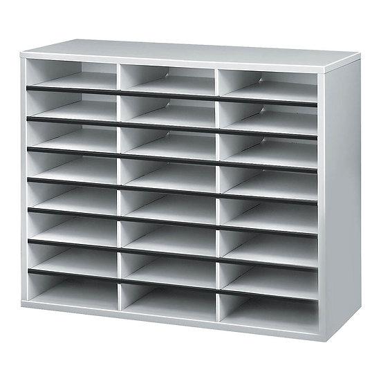 Bankers Box Literature Sorter 24 Compartment