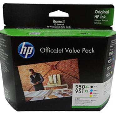 HP 950XL / 951XL Office Value Pack