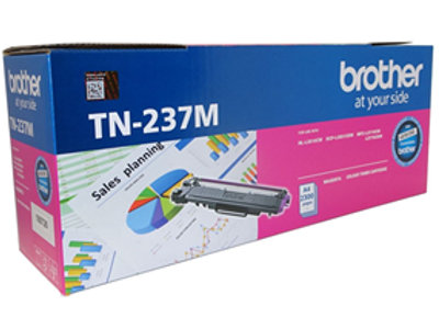 Brother TN-237M Magenta High Yield Toner Cartridge