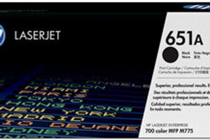 HP 651A Black Toner