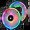 Thumbnail: CORSAIR LL SERIES, LL140 RGB, 140MM DUAL LIGHT LOOP RGB LED PWM FAN, 2 FAN PACK