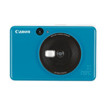 Canon Inspic C 2 in 1 Camera and Instant Mini Photo Printer Blue