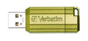 Verbatim Store'n'Go Pinstripe USB2.0 Flash Drive 16GB Green