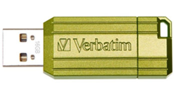 Verbatim Store'n'Go Pinstripe USB2.0 Flash Drive 16GB Green