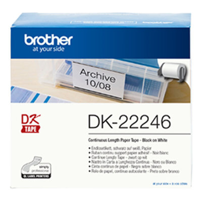 Brother DK22246 Continuous Paper Label Tape 103mm x 30.48m