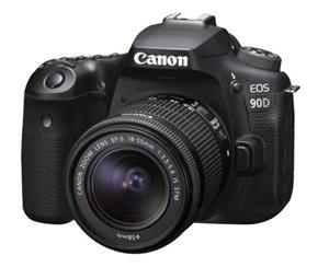 Canon EOS90D 32.5MP APS-C DSLR Camera 18-135 IS STM Kit