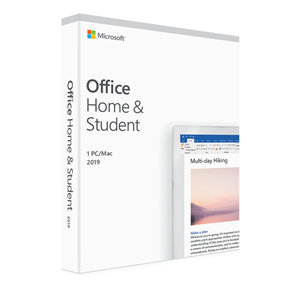 Microsoft Office Home & Student 2019 1 PC/Mac No Media