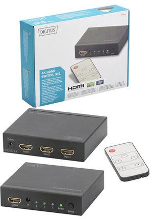Digitus 4K HDMI 3 Way Switch