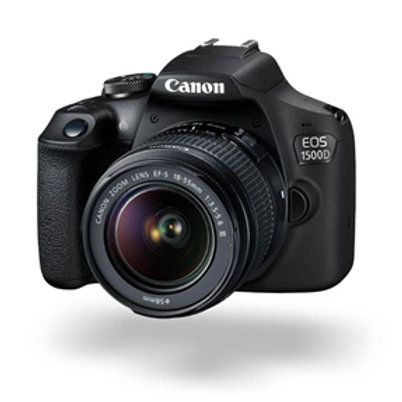 Canon EOS 1500D 24.1MP DSLR (EFS 18-55 III) Camera