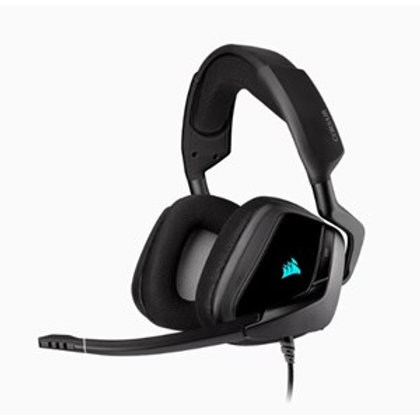CORSAIR VOID RGB ELITE USB PREMIUM GAMING HEADSET WITH 7.1 SURROUND SOUND - BLAC