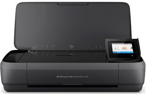 HP OfficeJet 250 Mobile Inkjet MFC Printer WiFi